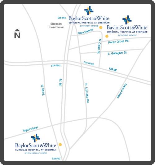 Baylor Sherman Map